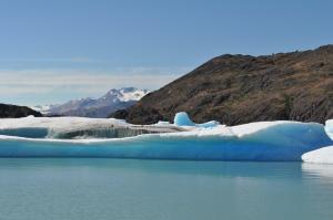 Icebergs from the Upsala