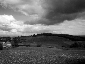 Landscape in manual B&W