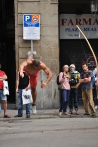 capoeira in Barcelona