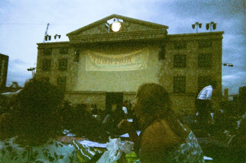 Secret Cinema Screen