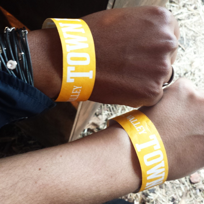 Secret Cinema Wristbands