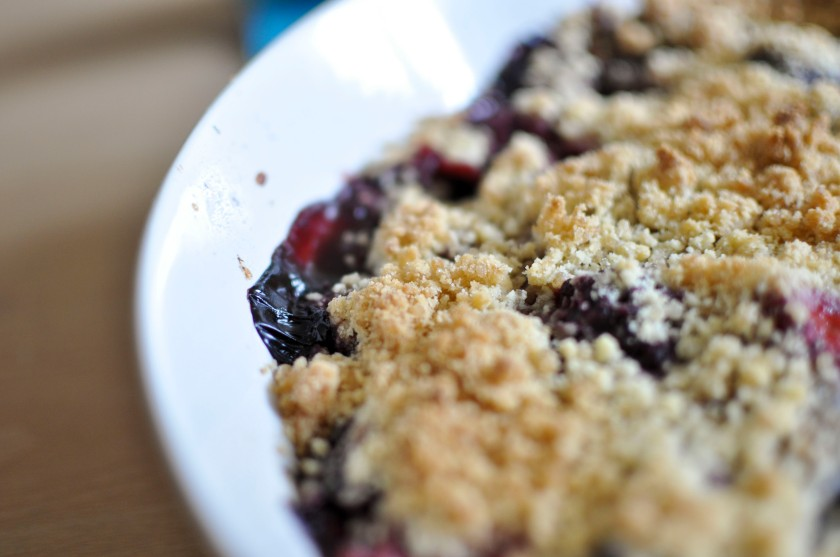 Detail of crumble