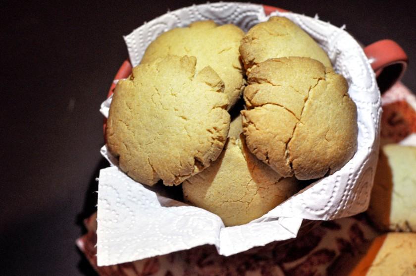 Cookies in mug