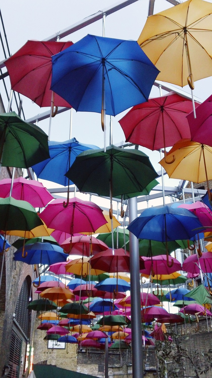 Umbrellas in Borough Market