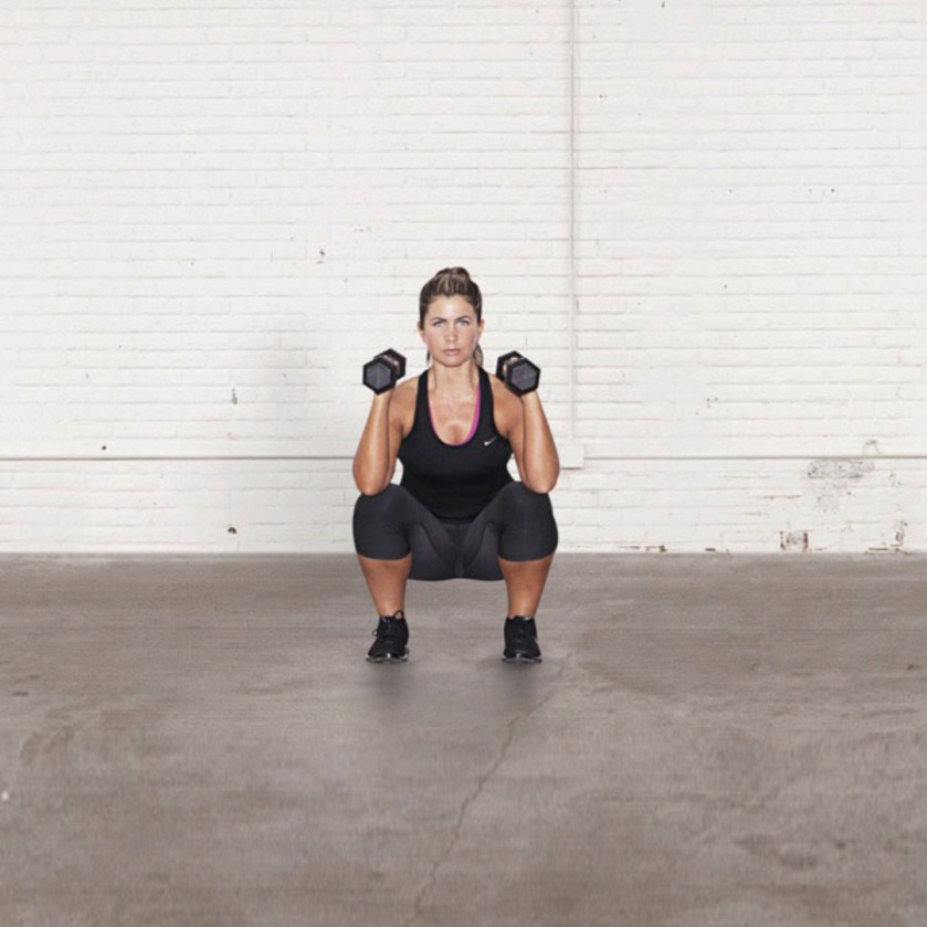 NTC Screenshot Squat with shoulder press