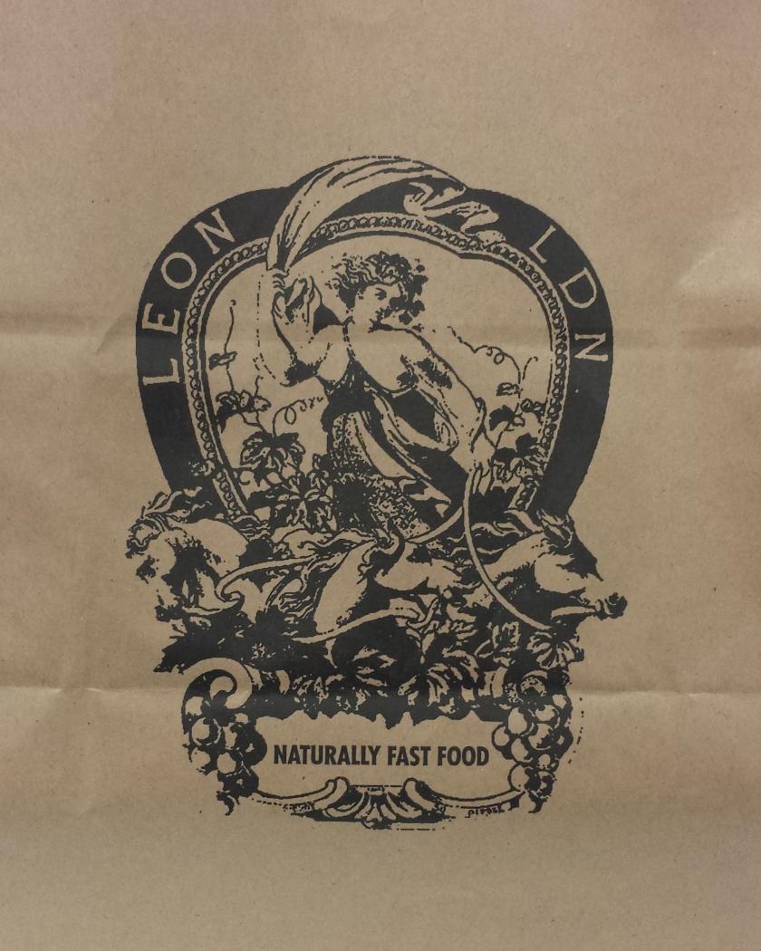 Stamp on Leon bag