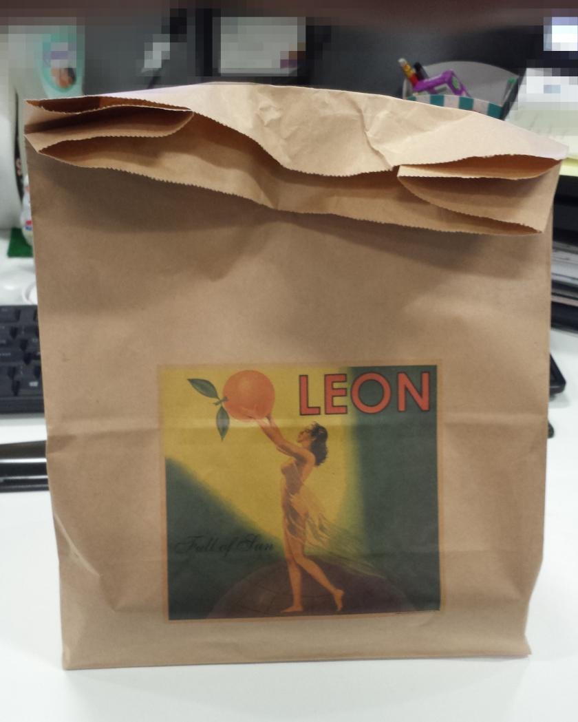 Leon paper bag