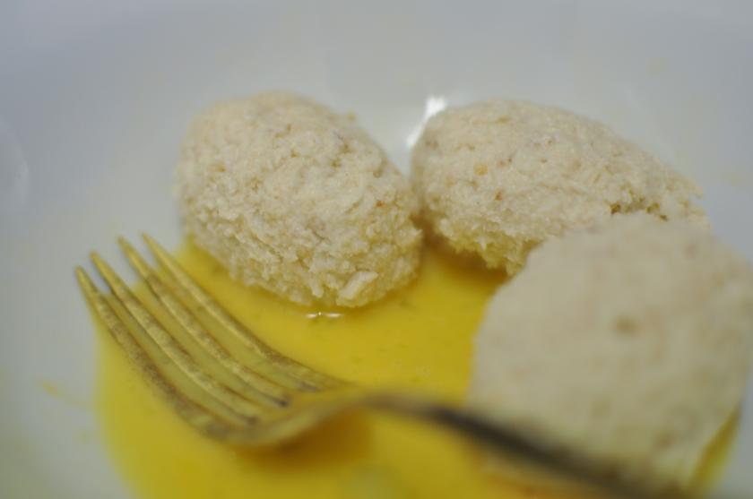 Cover in egg
