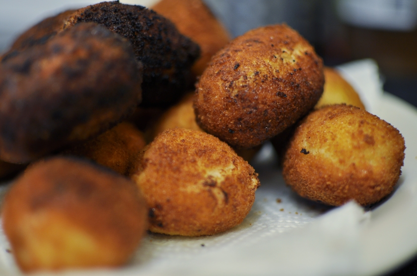 Croquettes all ready