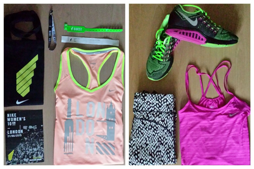 Nike race pack and running outfit