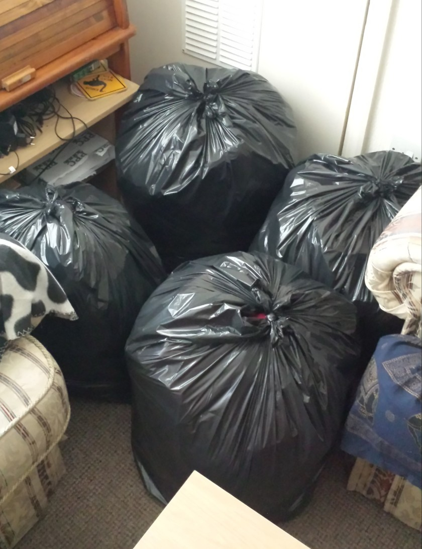Bags to donate