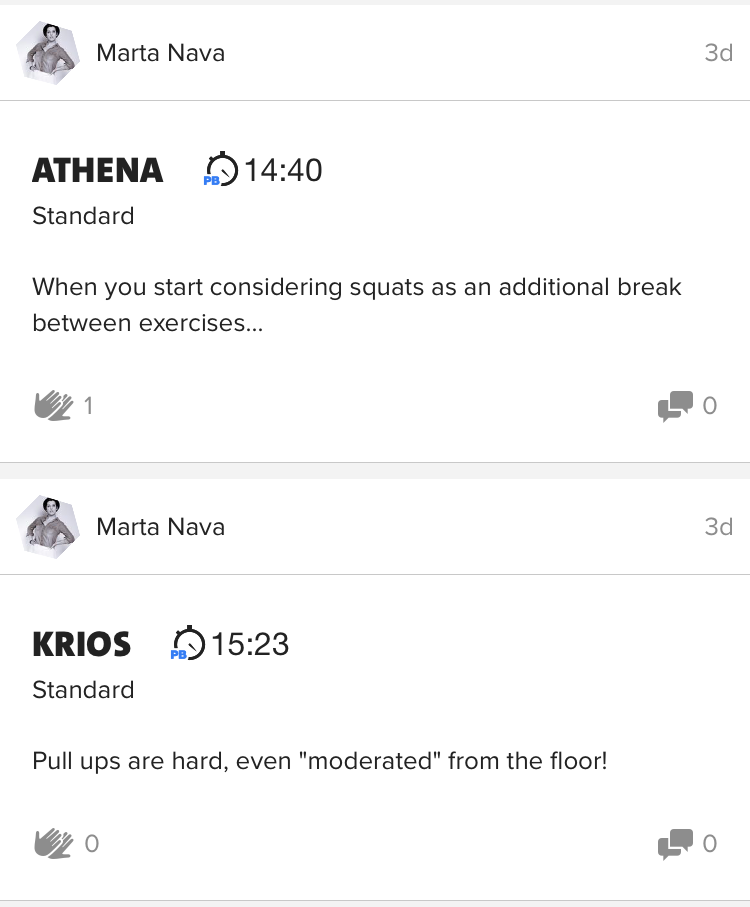 Friday Freeletics Workout
